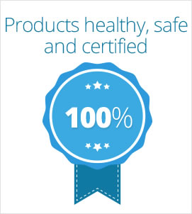 Healthy, safe and certified