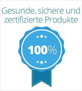 Gesunde, sichere und zertifizierte Produkte
